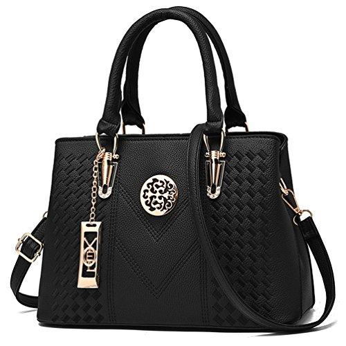Buy guess shoulder bag black