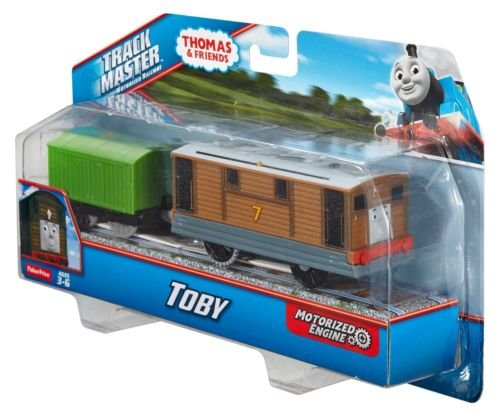 Thomas and Friends Trackmaster Revolution Motorized Engine Trains Mattel Sets Trackmaster Toby - CDB70 (Thomas And Friends Karaoke)