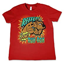 Officially Licensed Scooby Doo Reeelp Unisex Kids T-Shirt Ages 3-12 Years