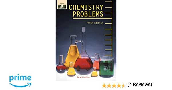 Amazon.com: Chemistry Problems (Fifth Edition) (9780825142666 ...