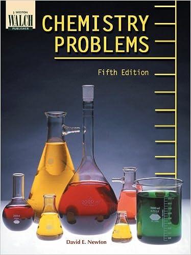 Amazon com: Chemistry Problems (Fifth Edition