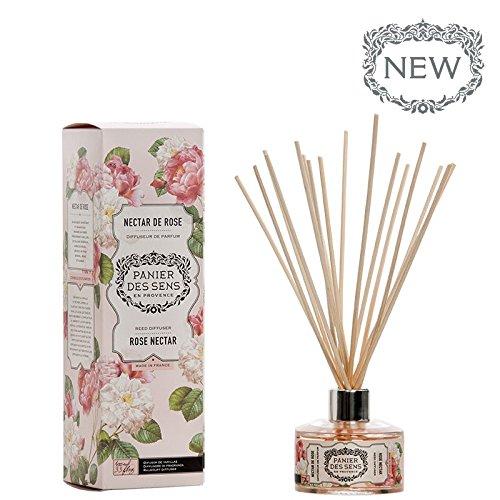 Panier des Sens Reed Diffuser, Rose Nectar, 3.3 ()