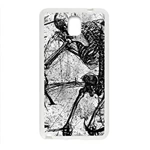 Creaive Skull Pattern Custom Protective Hard Phone Cae For Samsung Galaxy Note3