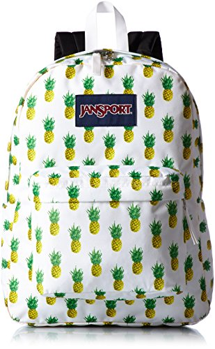 Jansport Superbreak Backpack, Multi Tropic Gold, One Size