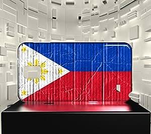 Funda Carcasa para Galaxy Note 4 Bandera FILIPINAS 04
