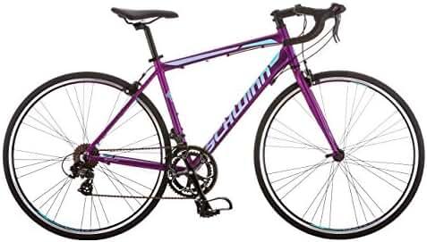 Schwinn Volare 1400 Road 700C Wheel Bicycle, Matte Purple, 48 cm/One Size