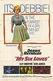 My Six Loves Poster Movie 11x17 Debbie Reynolds Cliff Robertson David Janssen Eileen Heckart
