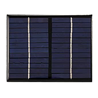 ChaRLes 1.5W 12V Panel Solar Policristalino Diy Cell Battery ...