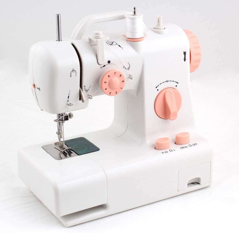 HEALLILY Máquina de Coser Portátil Mini Máquina de Reparación ...