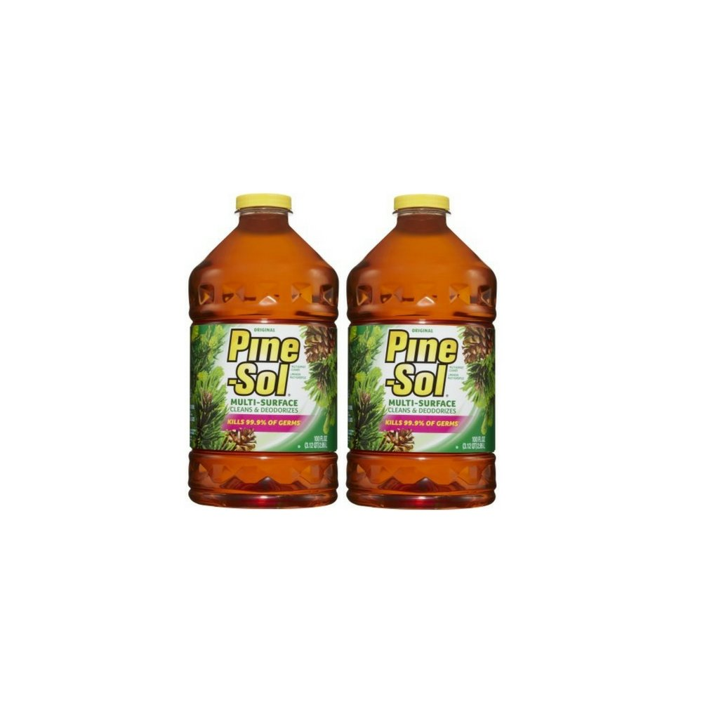 pine-sol Multi - Surface Cleaner、元香り、100 oz (2パック) B07CP4RZM5