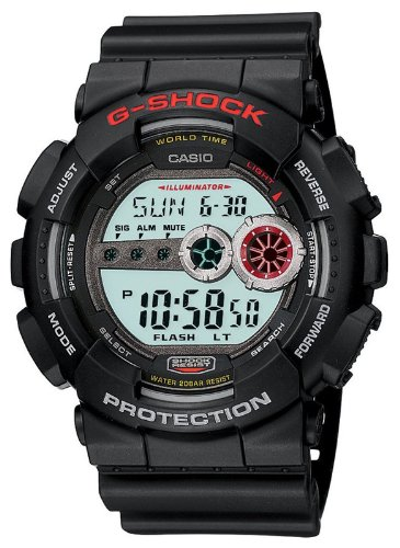 Casio G Shock GD 100 1A Black Digital