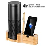 Best SE Fabric Glues - Speaker Echo Phone Wood Stand, 4 in 1 Review