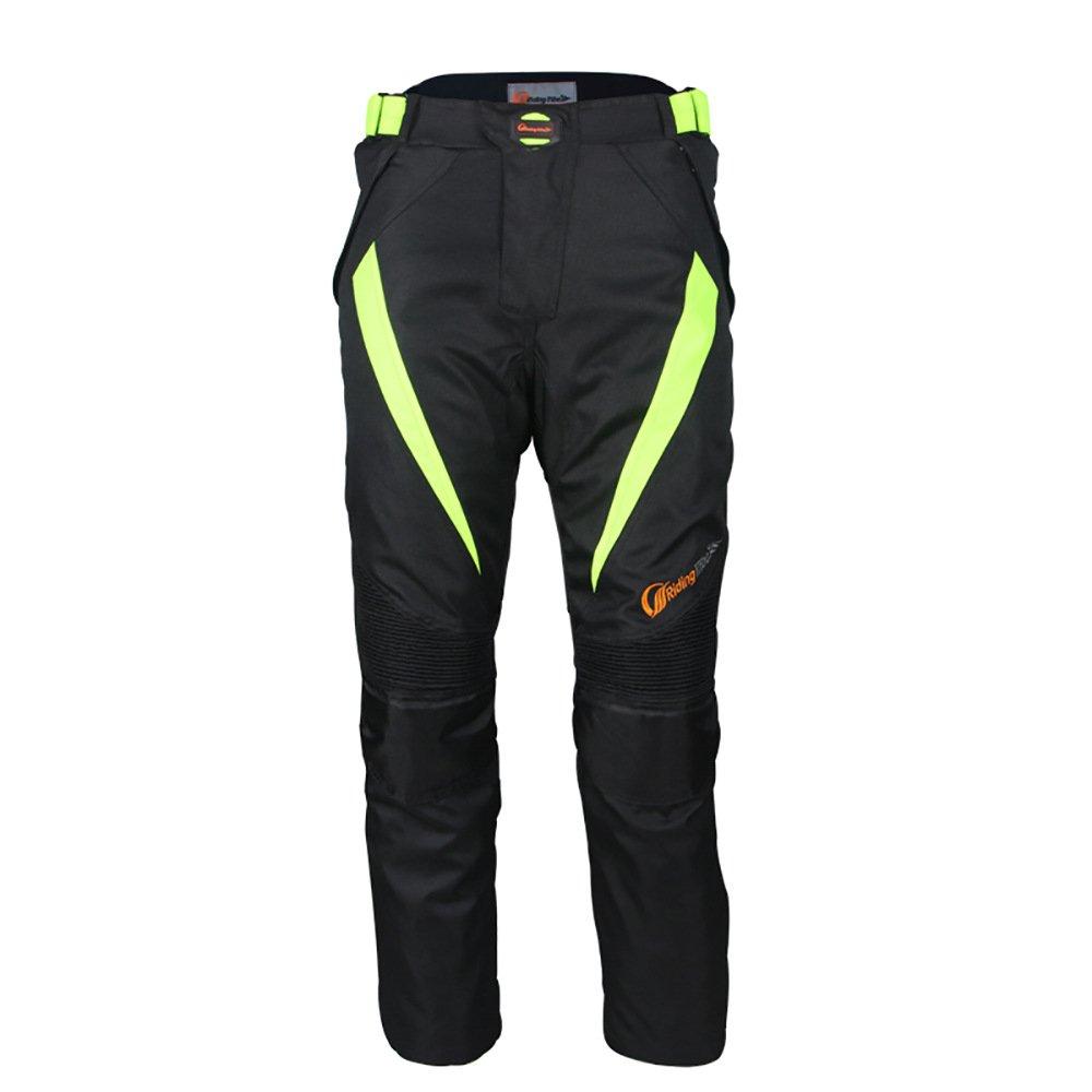 Pantalon de protection pour moto LKN pour homme - Impermé able et coupe-vent avec é lé ments de protection A0200029-06-4XL