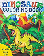 Dinosaur Coloring Book for Kids: Great Gift for Boys & Girls, Ages