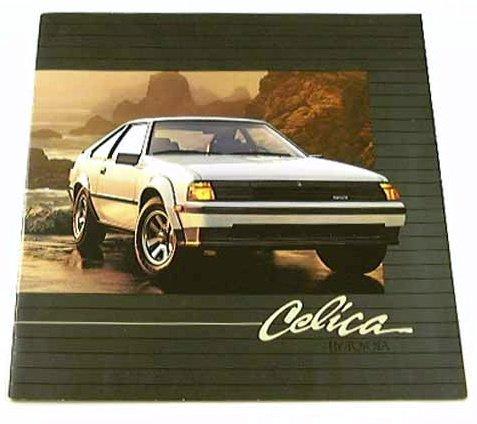 1984 84 Toyota CELICA BROCHURE GT-S GT Liftback Sport Coupe (Liftback Coupe)