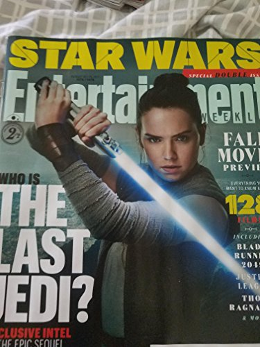 Entertainment Weekly Magazine (August 18/25, 2017) Daisy Ridley Who Is The Last Jedi Cover