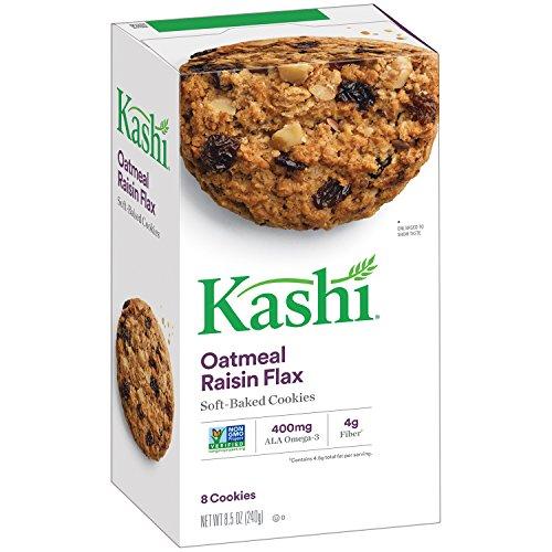 Kashi Oatmeal Cookies (Kashi, TLC Oatmeal Raisin Cookies, 8.5 oz)