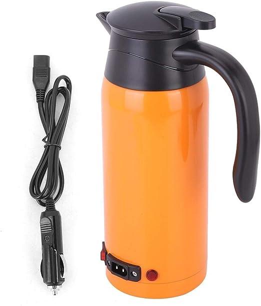 Hervidor eléctrico para automóviles, 800 ml Hervidor de agua ...