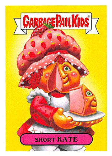 2018 Topps Garbage Pail Kids Series 1 We Hate the 80s Trading Cards 80s CARTOONS #7B SHORT KATE ()