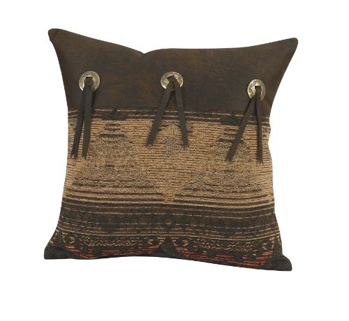 HiEnd Accents Sierra Lodge Pillow with ()