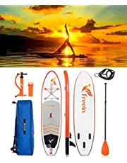 "Freein Cruise SUP Board Set | Aufblasbares Stand Up Paddle Board | 10'2""x31""x6"" 