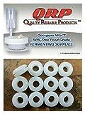 12 QRP Plastic Lid Airlock GROMMETS 1/16