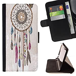 Dragon Case - FOR Sony Xperia Z1 Compact D5503 - Live a noble - Caja de la carpeta del caso en folio de cuero del tir¨®n de la cubierta protectora Shell