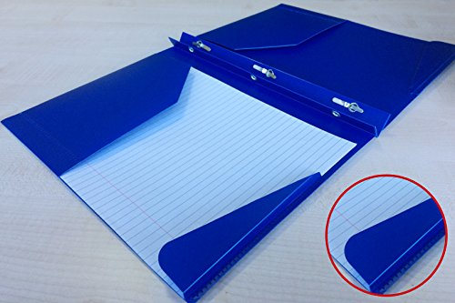 Assorted Color 2 pockets Poly Portfolio with 3 Prong Fasteners,6 Pack Photo #9