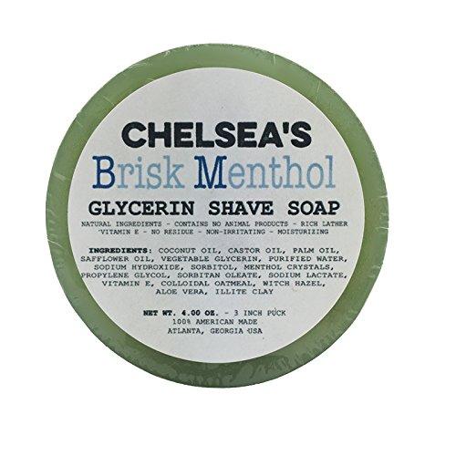 Chelsea's Brisk Menthol Shaving Soap