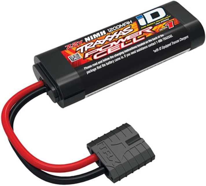Traxxas TRA2925 Series 1 Power Cell 6-Cell NiMH Battery, 1200mAh (NiMH, 6-C flat, 7.2V, 2/3A): Toys & Games