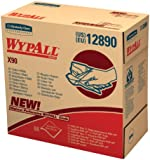 Wypall X90 Extended Use Wipers (12890), Reusable Wipes POP-UP BOX, Blue Denim, 5 Boxes / Case, 68 Sheets / Box, 340 Sheets / Case