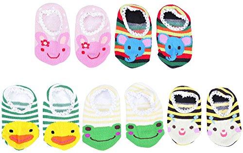 Toddler Animal Print Anti Slip Socks