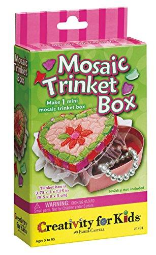 Creativity for Kids Mini Kit Mosaic Trinket Box