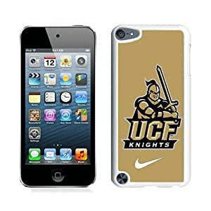 Custom Best Design ucf knights 01 White iPod Touch 5 Case