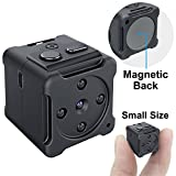 Mini Spy Hidden Camera, CHUHE 1080P Small HD Mini Body Camera Video Recorder with Motion Detection and Night Vision,Portable Spy Camera Home Surveillance Camera Nanny Cam for Home and Office