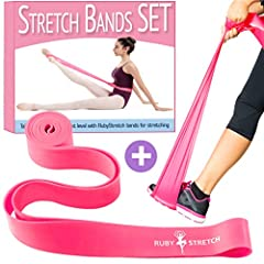 Those bands are the most beneficial stretching items you should own.  RubyStretch Bands are great because they can be used for multiple purposes, including strength resistance exercises and flexibility.Stretching is such a major aspect of...