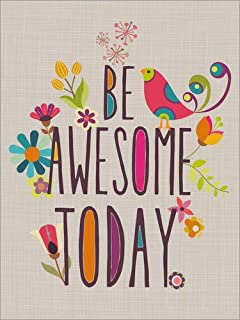 Posterlounge Stampa su PVC 30 x 40 cm: be Awesome Today di Valentina Ramos/MGL Licensing