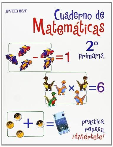 Cuaderno de Matemáticas 2º Primaria Cuadernos de matemáticas ...