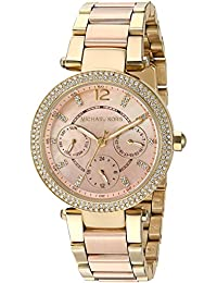 Women's Mini Parker Rose Gold-Tone Watch MK6477
