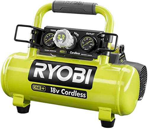 Ryobi 18-Volt ONE Cordless 1 Gal. Portable Air Compressor Tool Only