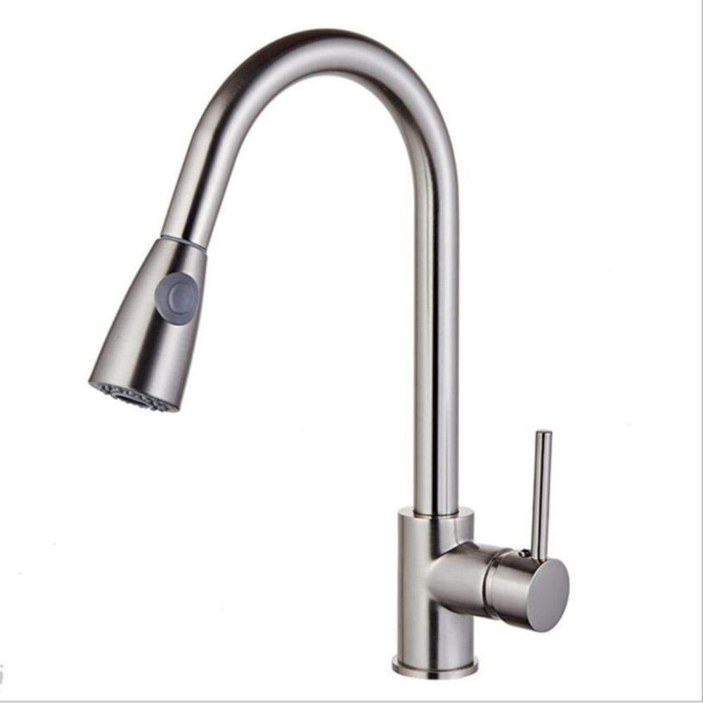 Nickel 2 Kai&Guo Pull Out Kitchen Faucet gold Chrome nickel black Sink Mixer Tap 360 degree redation kitchen mixer taps Kitchen Tap,gold
