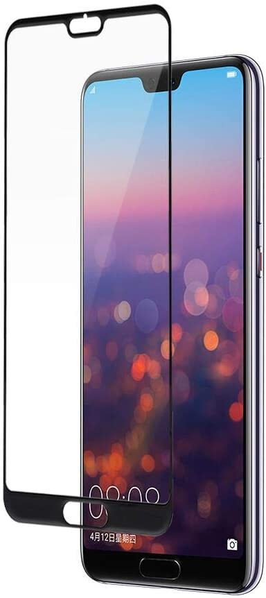 Zopsc Glass Screen Protector 2.5D Full Screen Anti-peep Screen Tempered Explosion-Proof Film High Definition for Huawei P20//P20 Pro P20