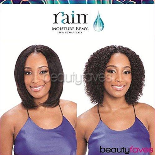 MOIST JERRY 3PCS (1B Off Black) - Rain Indian Moisture Remy Wet&Wavy Weave Extension (Rain Indian Remy Wet And Wavy Jerry Curl)