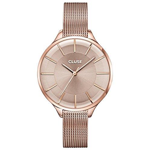 Damenuhren cluse  CLUSE Salome Rose Gold CL19003: Amazon.de: Uhren