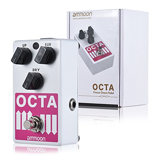 ammoon Precise Polyphonic Octave Generator Pedal by ammoon