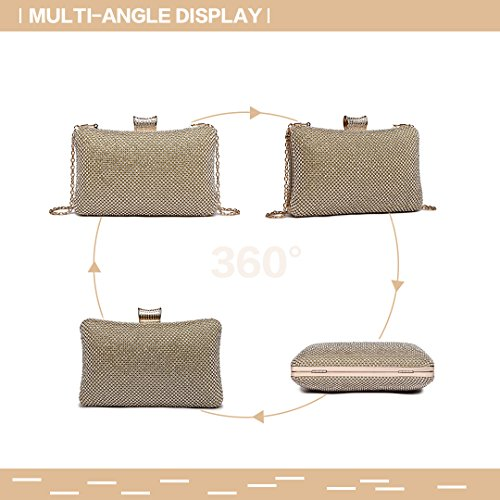 Bag Diamante 1825 Lulu Wedding yellow Clutches Evening Miss Womens Purse Ladies Handbag vqtnnT0wB