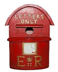 Vivid Arts D-Letterbox Birdhouse - Red