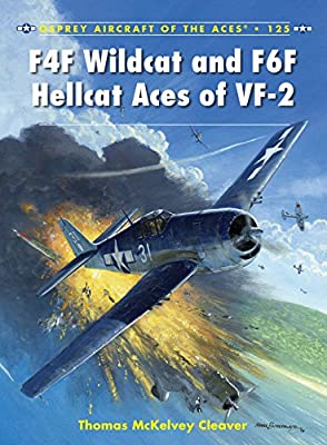 F4F Wildcat and F6F Hellcat Aces of VF-2 (Aircraft of the Aces Book 125)