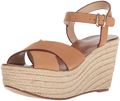 - Chinese Laundry Kristin Cavallari Women's Mikah Espadrille Wedge Sandal, Camel Leather, 9.5 M US