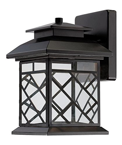 Oil Rubbed Bronze Woodmere 1 Light Outdoor LED Wall Sconce